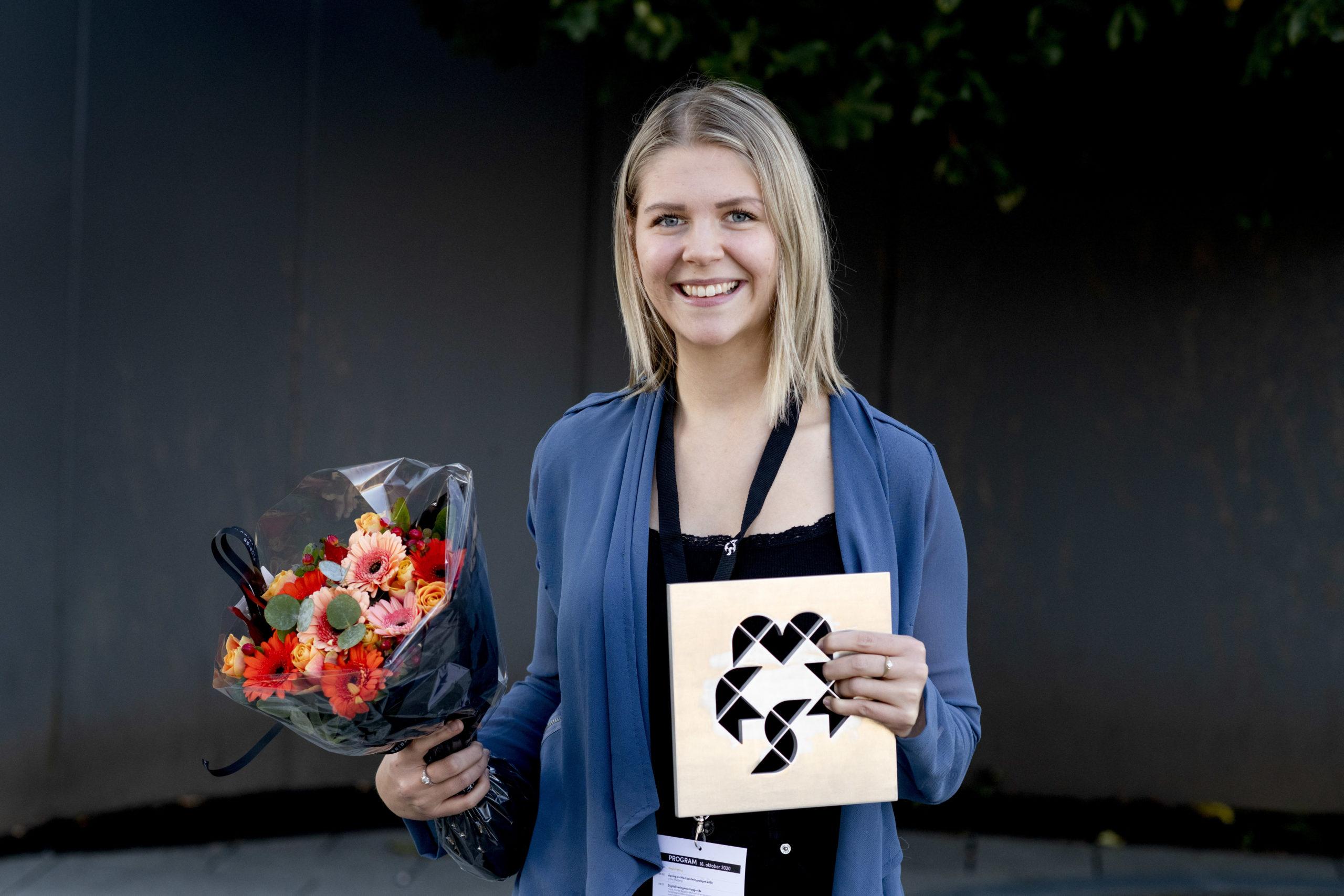 Årets Unge Markedsfører 2019: Cecilie Refsnes Milenkovic (RobotNorge). Foto: Jan Inge Haga